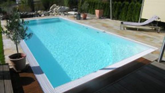 Schwimmbecken swimmingpool schwimmbad fertigbecken aus polypropylen folienbecken - Pool polypropylen ...